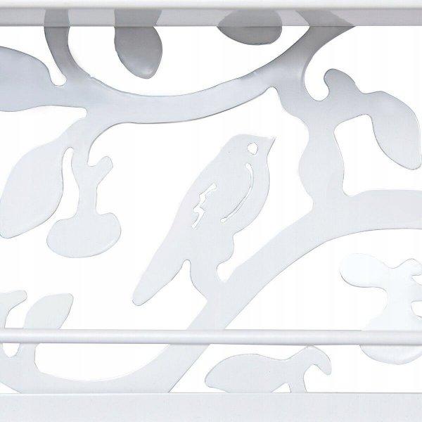 Stojak wystawka półka naścienna na lakiery ozdobna