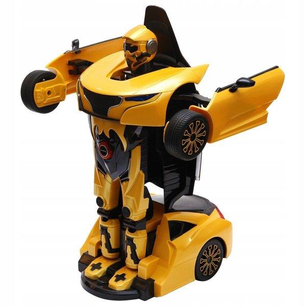 Zdalnie sterowany samochód robot 2w1