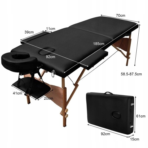 Składany stół do masażu łóżko terapeutyczne