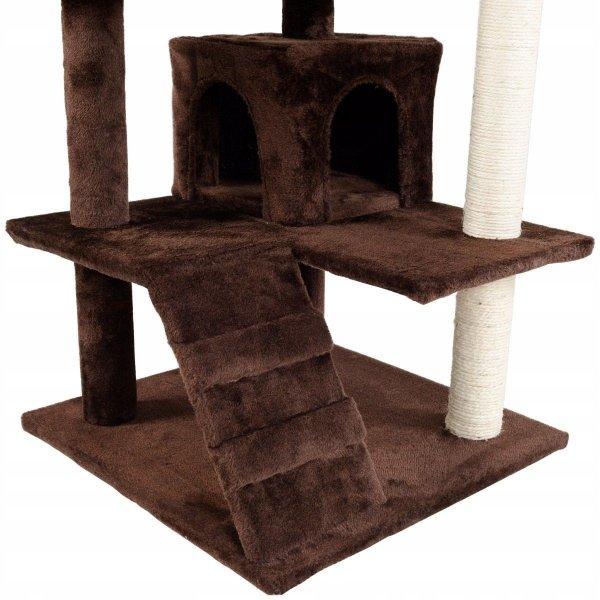 Drapak dla kota 5-poziomowa wieża