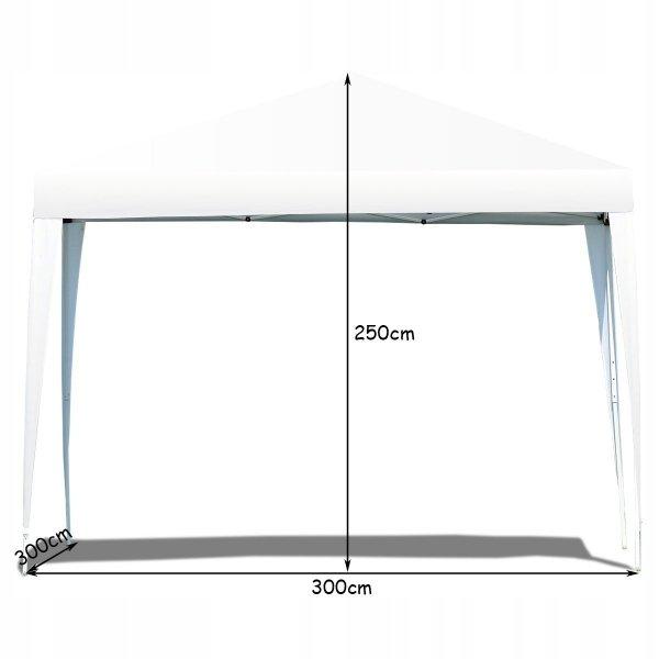 Pawilon ogrodowy namiot imprezowy wodoodporny 3x3m