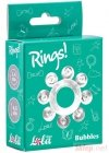 Pierścień-Cockring Rings Bubbles white