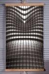 Grzejnik na podczerwień - giętki panel grzewczy 430W TRIO wzór 7 abstrakcja, wymiary 100x57cm