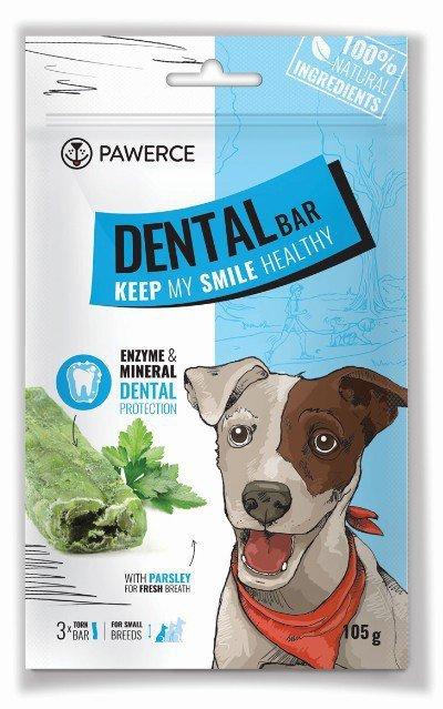 Pawerce Dental Bar Small Breeds 3szt/op 105g