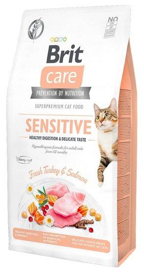 Brit Care Cat Grain Free Sensitive Healthy Digestion & Delicate Taste 400g