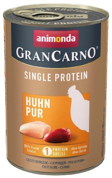 Animonda GranCarno Single Protein Kurczak puszka 400g