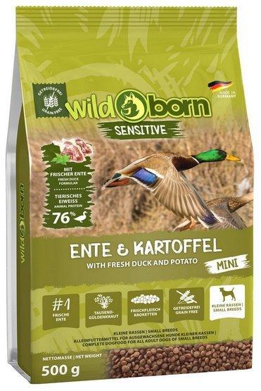 Wildborn Sensitive Ente & Kartoffel Adult Mini 500g