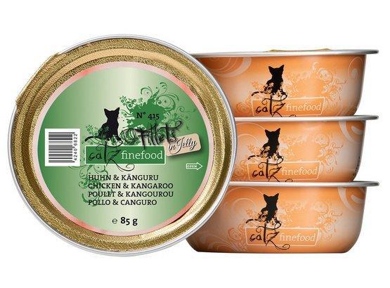 Catz Finefood Filety N.415 Kurczak/Kangur tacka 85g