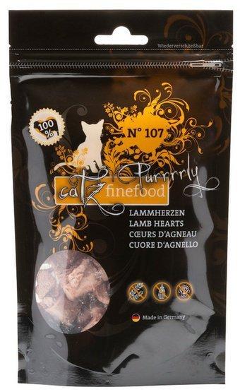 Catz Finefood Purrrrly N.107 Serca jagnięce 35g