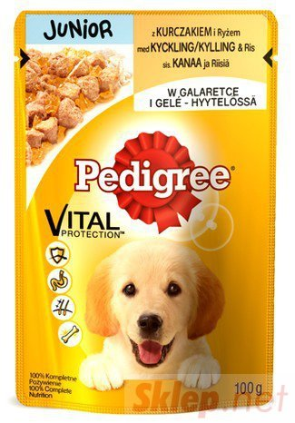 Pedigree Junior saszetka 100g