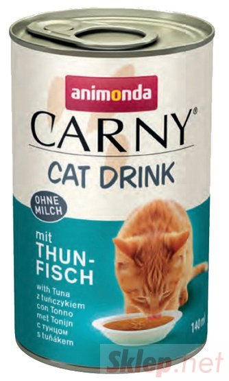 Animonda Carny Cat Drink napój z tuńczykiem 140ml