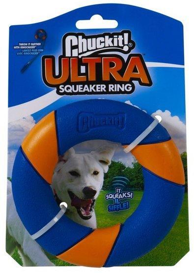 Chuckit! Ultra Squeaker Ring [47091]