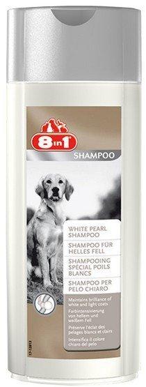 8in1 White Pearl Shampoo - Szampon dla psów o jasnym umaszczeniu 250ml
