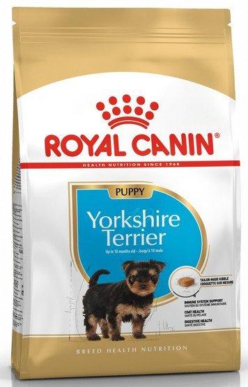 Royal Canin Yorkshire Terrier Puppy karma sucha dla szczeniąt do 10 miesiąca, rasy yorkshire terrier 1,5kg