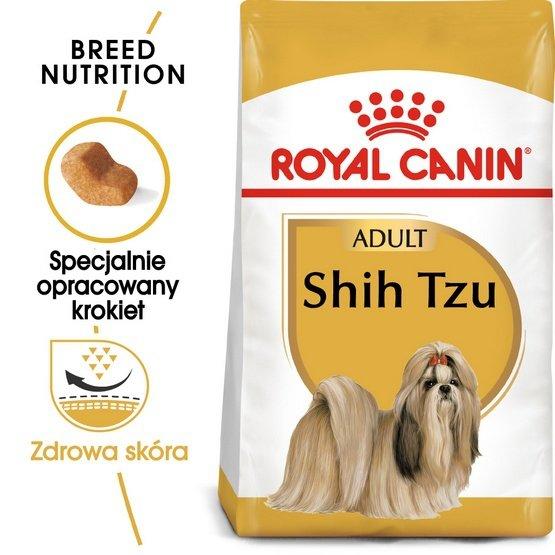 Royal Canin Shih Tzu Adult karma sucha dla psów dorosłych rasy shih tzu 1,5kg