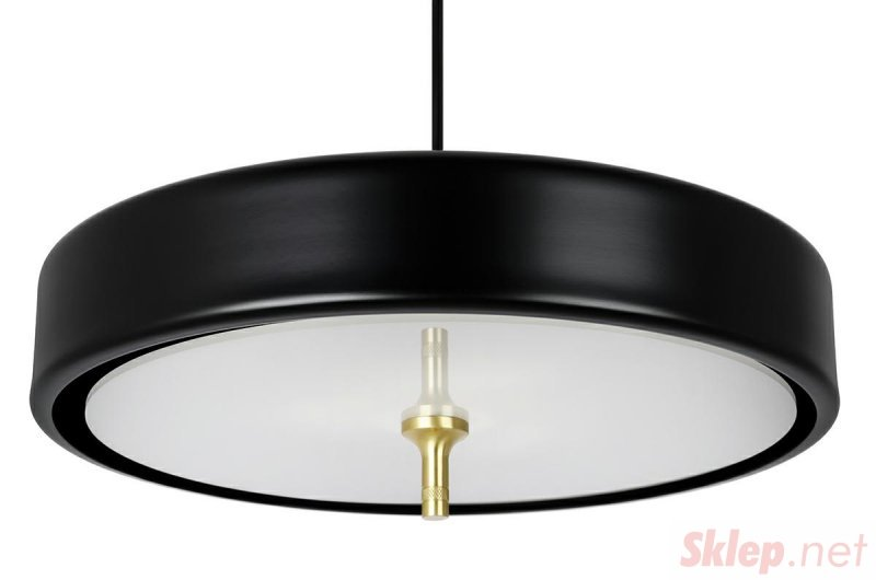 Lampa wisząca ARTE czarna - aluminium, metal