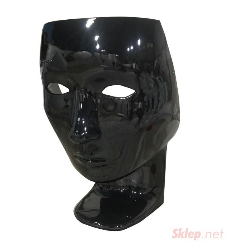 Fotel NEMO FACE CHAIR czarny - włókno szklane