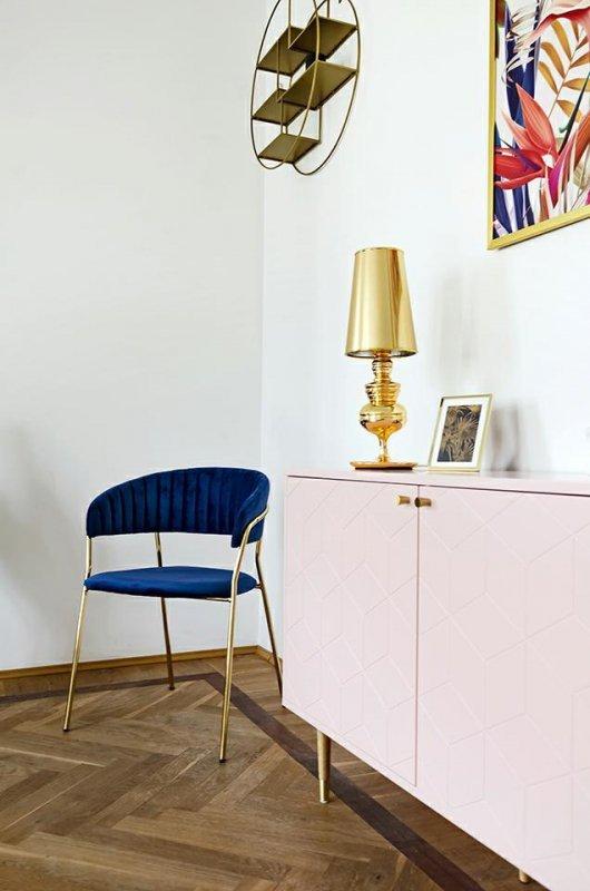Lampa biurkowa QUEEN 18 złota