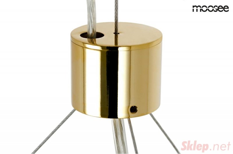 MOOSEE lampa wisząca VALENTINO L - złota