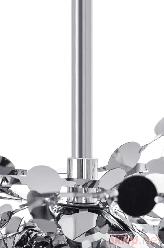 Lampa wisząca MONETE SINGLE chrom - metal