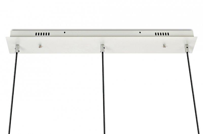 Lampa wisząca CAPRI LINE 3 chrom - 180 LED, aluminium, szkło