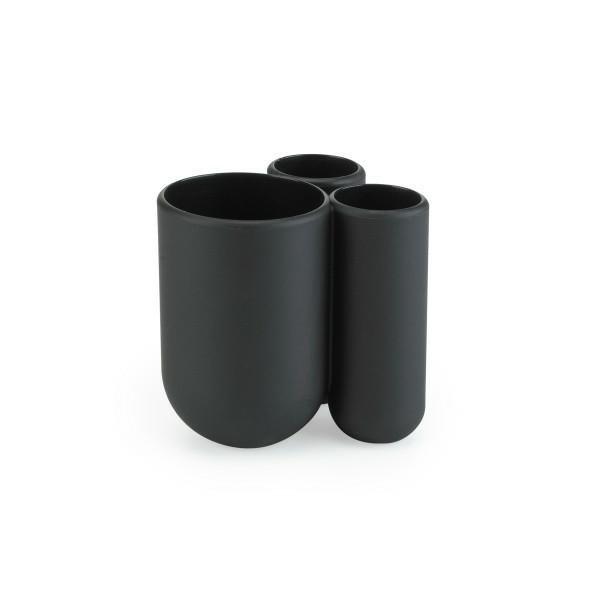 UMBRA kubek na szczoteczki  TOUCH - czarny