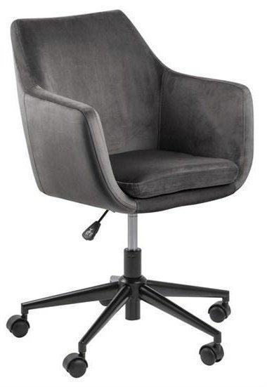 ACTONA fotel biurowy NORA  - ciemnoszary