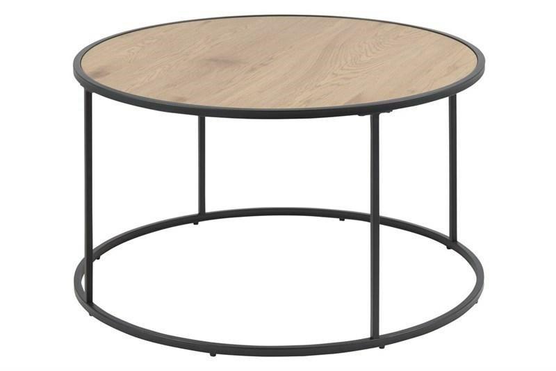 ACTONA stolik kawowy SEAFORD 80 cm - naturalny