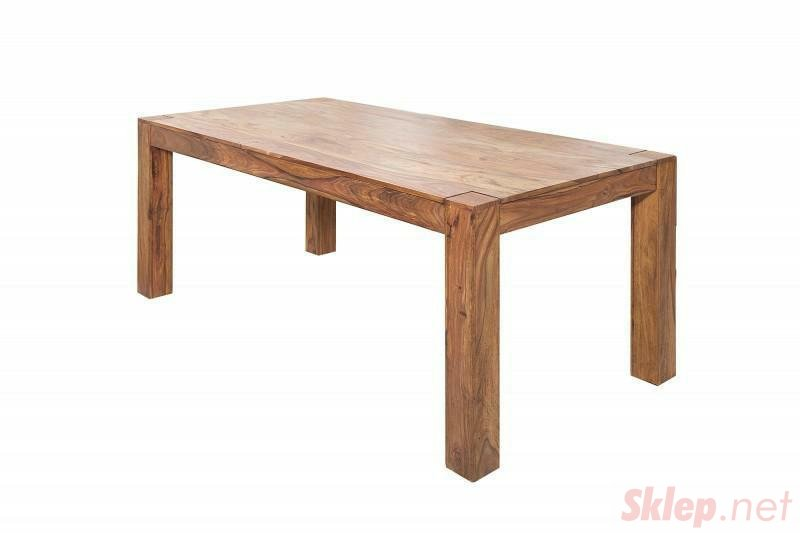 INVICTA stół MAKASSAR 200cm sheesham - lite dewno palisander