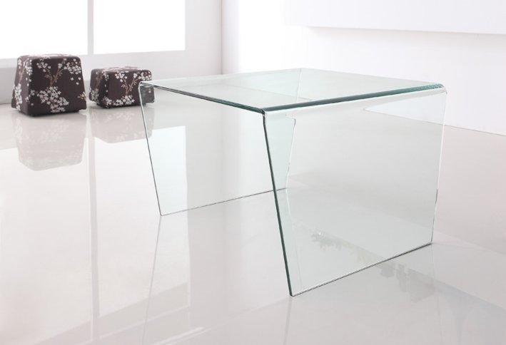 Stolik szklany PENDENZA - szkło transparentne