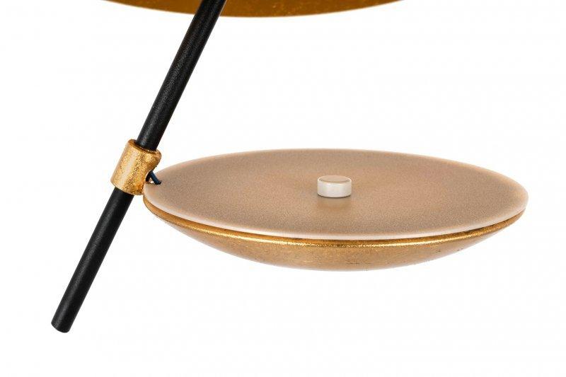 Lampa wisząca STING RAY 60 czarno-złota - metal