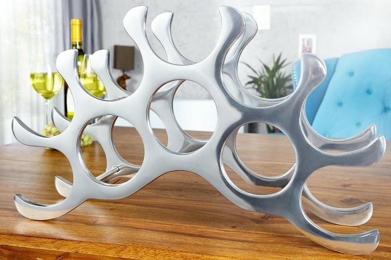 INVICTA stojak na wino REEF - aluminium