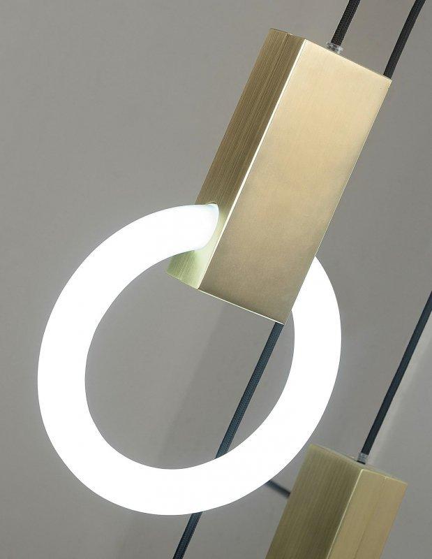 Lampa wisząca HOPP 21 złota