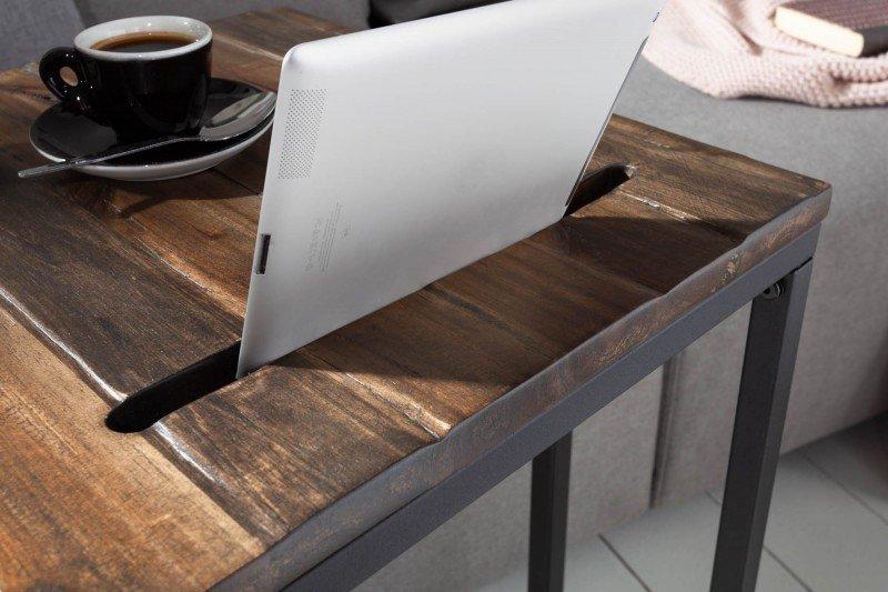 INVICTA stolik ELEMENTS 43 tablet akacja