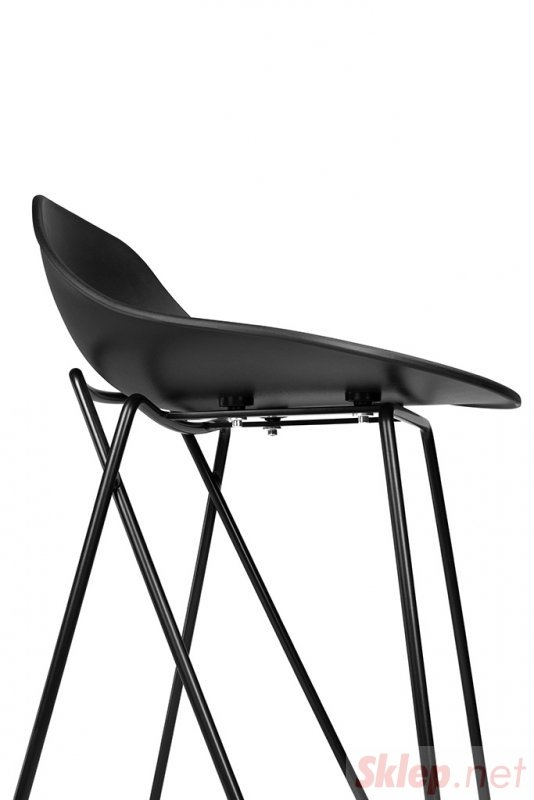 Hoker PERSY czarny 66 cm - polipropylen, metal