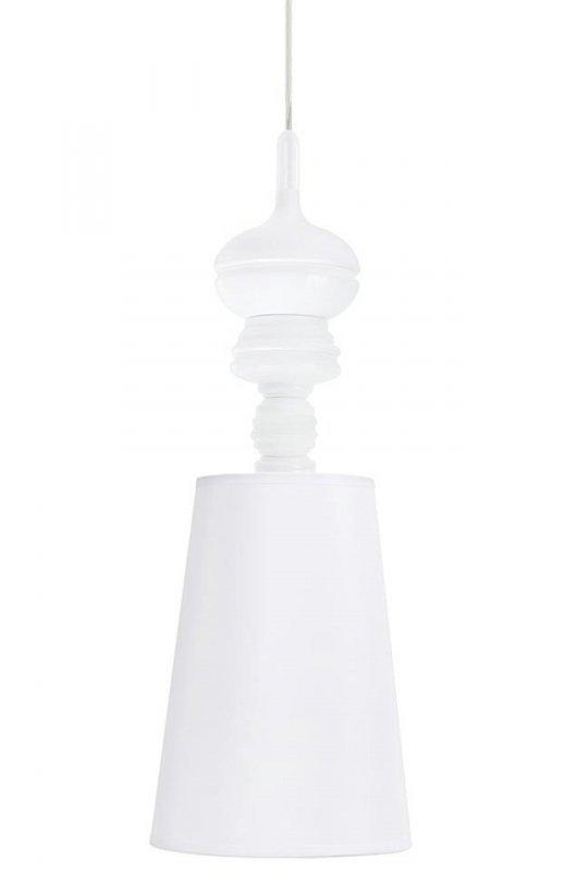 Lampa wisząca QUEEN 18 biała