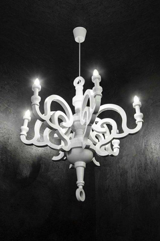 Lampa wisząca PAPYRUS UP 90 biała