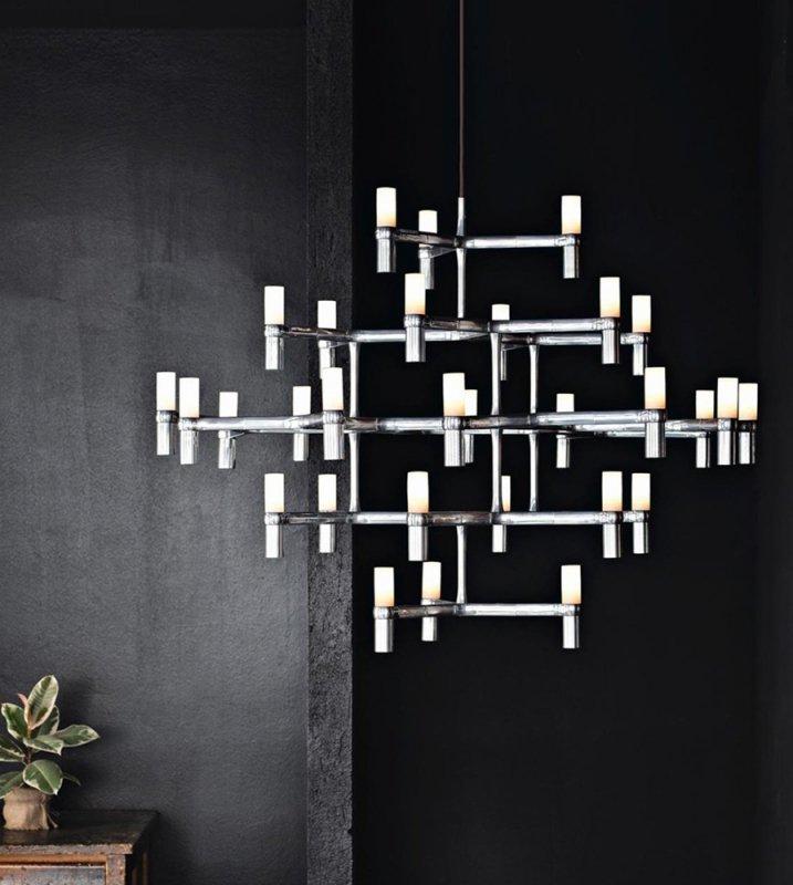 Lampa wisząca ATOMIC GRANDE chrom