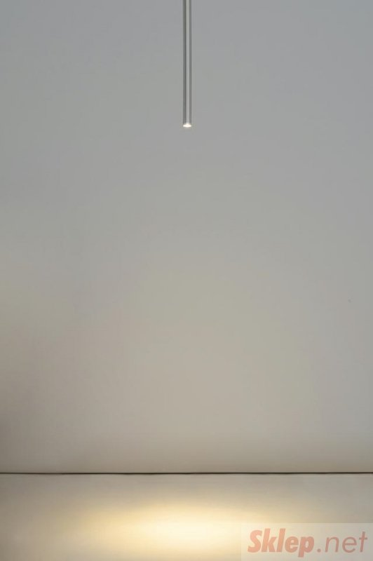 Lampa wisząca ORGANO 60 chromowana - LED, metal