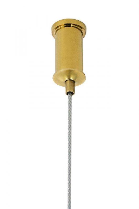 Lampa wisząca RING 60 złota - LED, stal