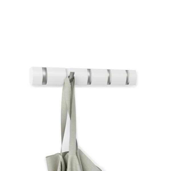 UMBRA wieszak na ubrania FLIP 5 -biały