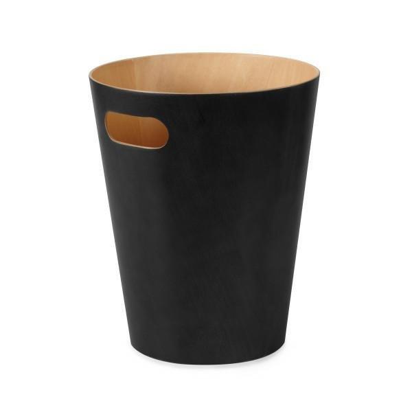 UMBRA kosz na śmieci WOODROW  - czarny