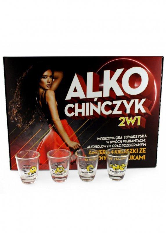 Gry-Alko Chińczyk 2 w 1