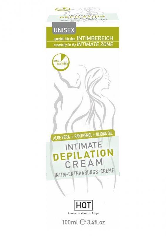 Żel/sprej-HOT Intimate Depilation Cream 100 ml