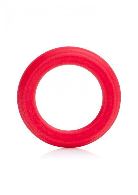 Pierścień-CAESAR SILICONE RINGS RED