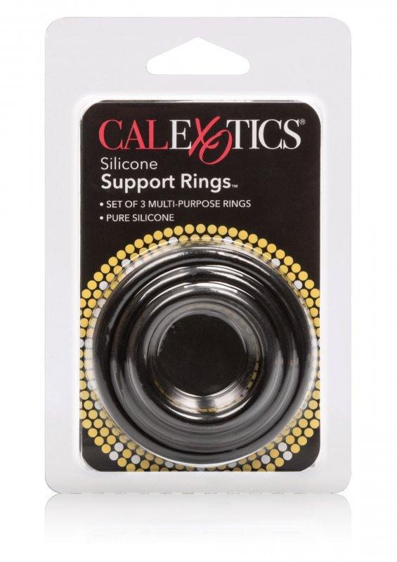 Pierścień-SILICONE SUPPORT RINGS BLACK
