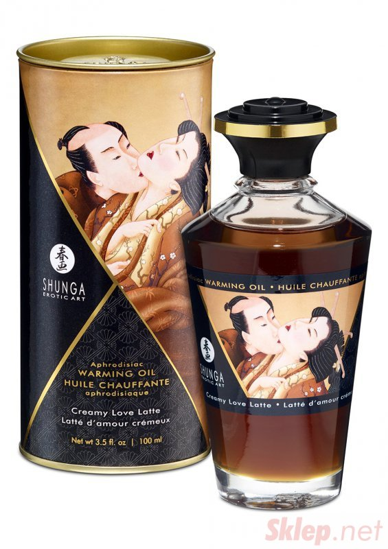 Olejek-WARMING OIL CREAMY LOVE LATTE 100ML