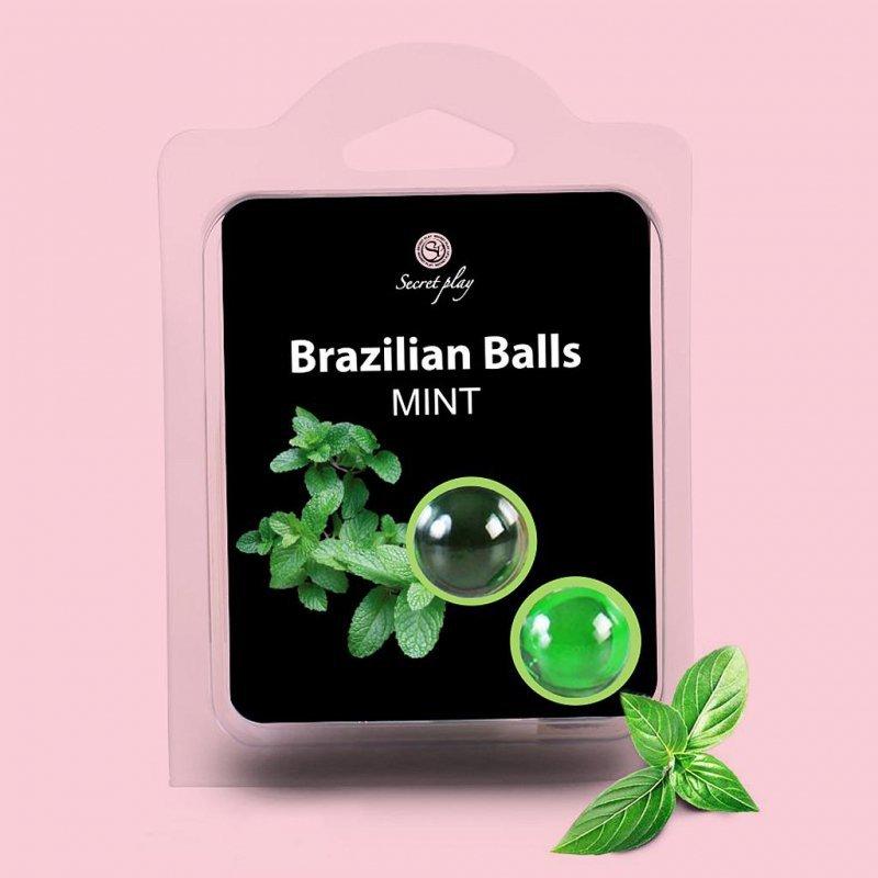 SET 2 BRAZILIAN BALLS MINT