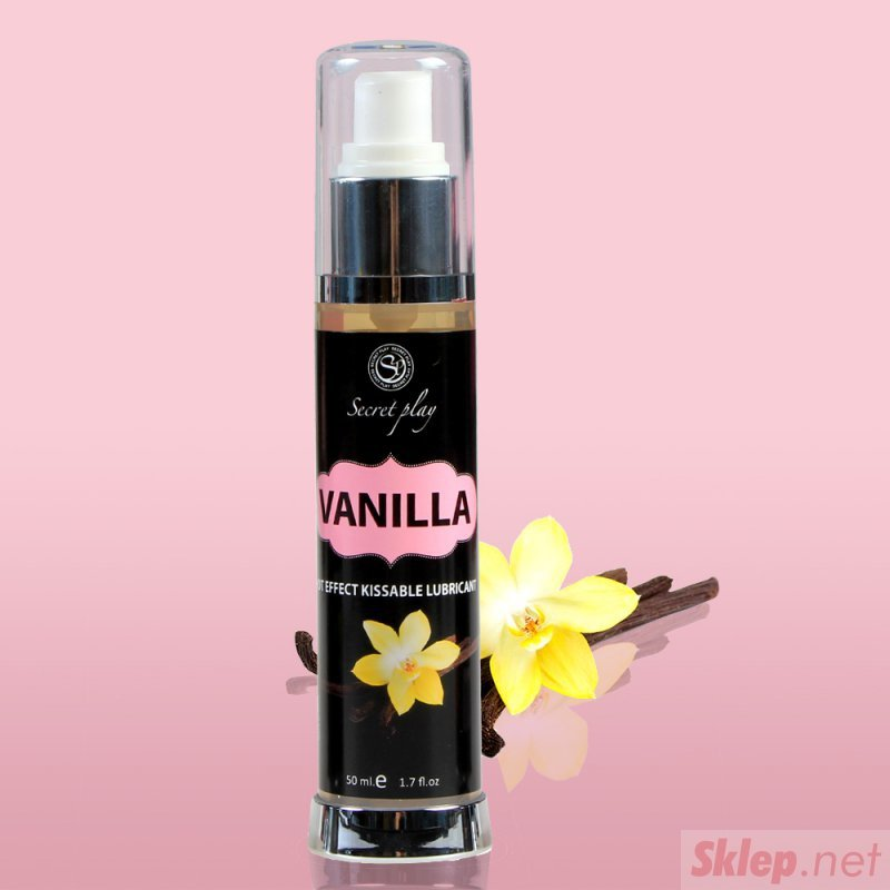 VANILLA HOT EFFECT KISSABLE LUBRICANT 50 ML