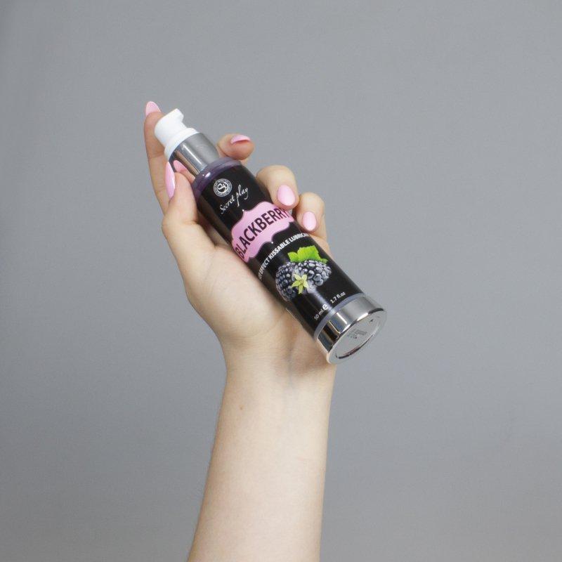 BLACKBERRY HOT EFFECT KISSABLE LUBRICANT 50 ML